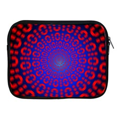 Binary Code Optical Illusion Rotation Apple iPad 2/3/4 Zipper Cases