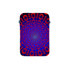 Binary Code Optical Illusion Rotation Apple iPad Mini Protective Soft Cases