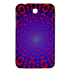 Binary Code Optical Illusion Rotation Samsung Galaxy Tab 3 (7 ) P3200 Hardshell Case