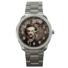 Edgar Allan Poe  Sport Metal Watch