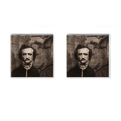 Edgar Allan Poe  Cufflinks (Square)