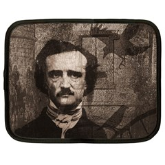 Edgar Allan Poe  Netbook Case (Large)