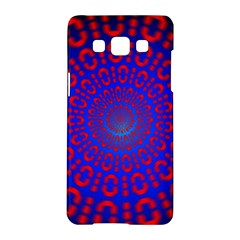 Binary Code Optical Illusion Rotation Samsung Galaxy A5 Hardshell Case
