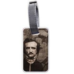 Edgar Allan Poe  Luggage Tags (One Side)