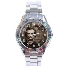 Edgar Allan Poe  Stainless Steel Analogue Watch