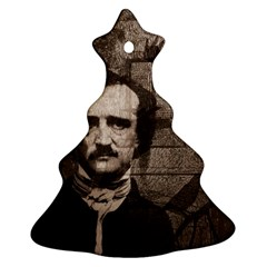 Edgar Allan Poe  Ornament (Christmas Tree)