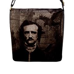Edgar Allan Poe  Flap Messenger Bag (L)