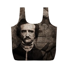 Edgar Allan Poe  Full Print Recycle Bags (M)