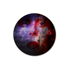 David Bowie  Rubber Round Coaster (4 pack)