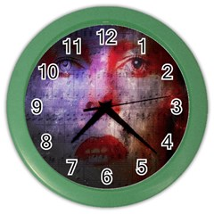 David Bowie  Color Wall Clocks
