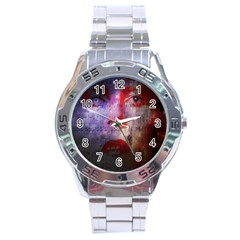 David Bowie  Stainless Steel Analogue Watch