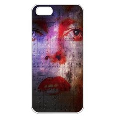David Bowie  Apple iPhone 5 Seamless Case (White)