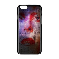 David Bowie  Apple iPhone 6/6S Black Enamel Case