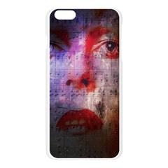 David Bowie  Apple Seamless iPhone 6 Plus/6S Plus Case (Transparent)