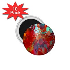 Texture Spots Circles 1 75  Magnets (10 Pack)