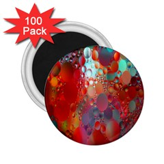 Texture Spots Circles 2.25  Magnets (100 pack)
