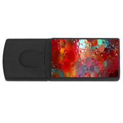 Texture Spots Circles USB Flash Drive Rectangular (2 GB)