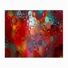 Texture Spots Circles Small Glasses Cloth