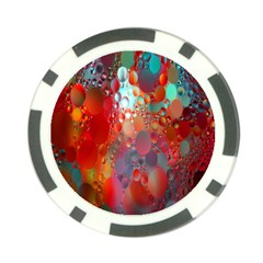 Texture Spots Circles Poker Chip Card Guard