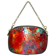 Texture Spots Circles Chain Purses (One Side)