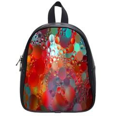 Texture Spots Circles School Bags (small)