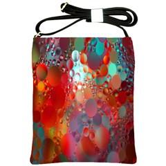 Texture Spots Circles Shoulder Sling Bags