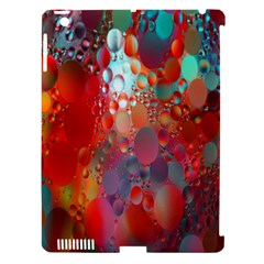 Texture Spots Circles Apple iPad 3/4 Hardshell Case (Compatible with Smart Cover)