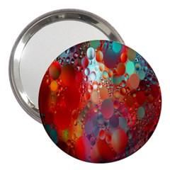 Texture Spots Circles 3  Handbag Mirrors