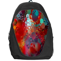 Texture Spots Circles Backpack Bag