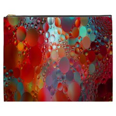 Texture Spots Circles Cosmetic Bag (XXXL)