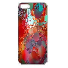 Texture Spots Circles Apple Seamless iPhone 5 Case (Clear)