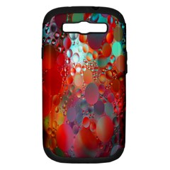 Texture Spots Circles Samsung Galaxy S III Hardshell Case (PC+Silicone)