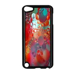 Texture Spots Circles Apple iPod Touch 5 Case (Black)
