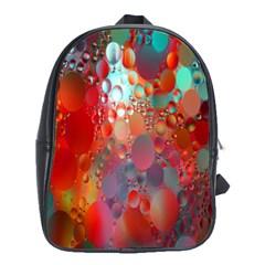 Texture Spots Circles School Bags (xl)