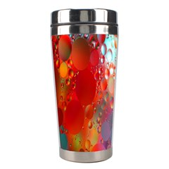Texture Spots Circles Stainless Steel Travel Tumblers