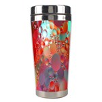 Texture Spots Circles Stainless Steel Travel Tumblers Center