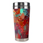 Texture Spots Circles Stainless Steel Travel Tumblers Right