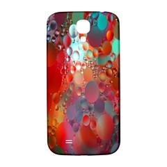 Texture Spots Circles Samsung Galaxy S4 I9500/I9505  Hardshell Back Case