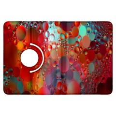 Texture Spots Circles Kindle Fire HDX Flip 360 Case