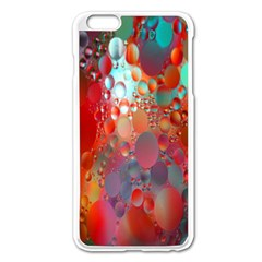 Texture Spots Circles Apple iPhone 6 Plus/6S Plus Enamel White Case