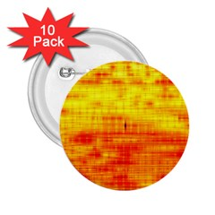 Bright Background Orange Yellow 2 25  Buttons (10 Pack)