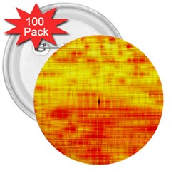 Bright Background Orange Yellow 3  Buttons (100 pack)