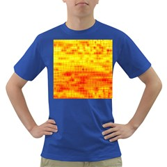 Bright Background Orange Yellow Dark T Shirt