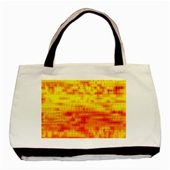 Bright Background Orange Yellow Basic Tote Bag