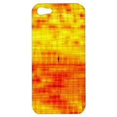 Bright Background Orange Yellow Apple iPhone 5 Hardshell Case
