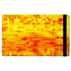 Bright Background Orange Yellow Apple iPad 3/4 Flip Case