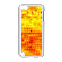 Bright Background Orange Yellow Apple iPod Touch 5 Case (White)
