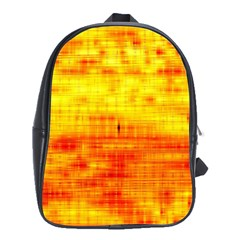 Bright Background Orange Yellow School Bags (xl)
