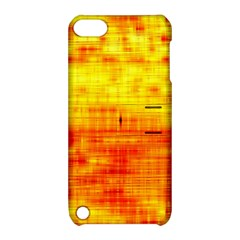 Bright Background Orange Yellow Apple iPod Touch 5 Hardshell Case with Stand