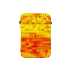 Bright Background Orange Yellow Apple iPad Mini Protective Soft Cases
